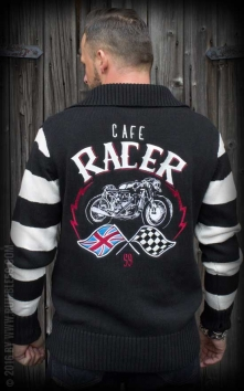 Racing Sweater Cafe Racer