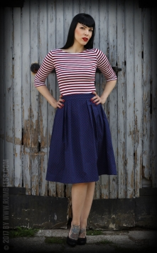 Sailor Swing Dress All hands on deck!