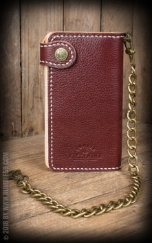 Leder Wallet 2-Tone - Cash Only