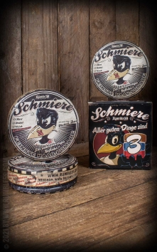 Schmiere - 3er Set Pomade Knüppelhart