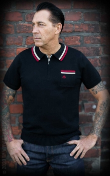 Knitted Polo Shirt Rockford