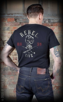 T-Shirt Rebel for life