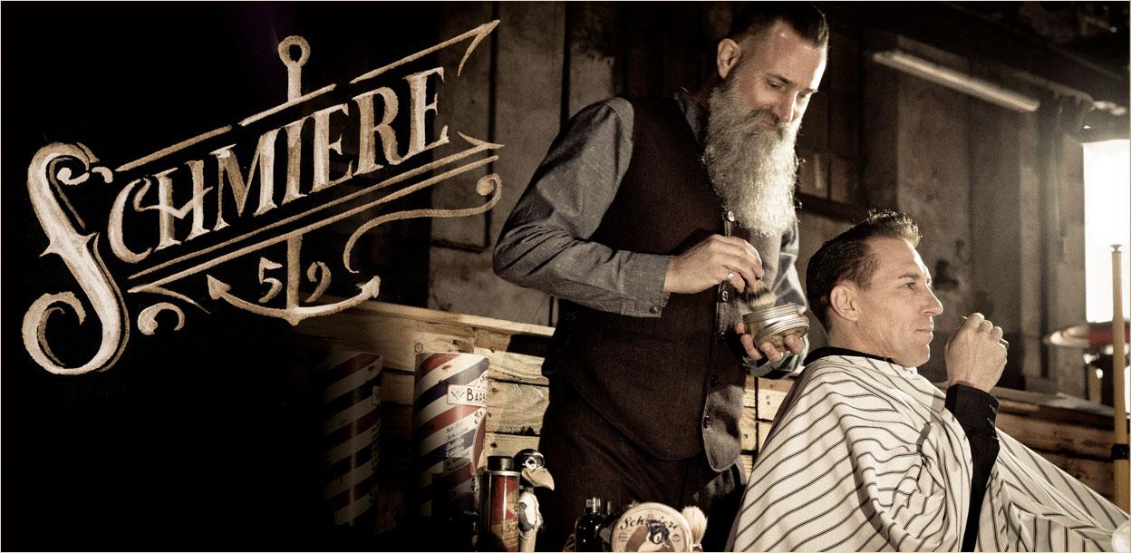 Mann beim Barber