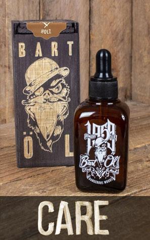 Bartölflasche mit Holzbox