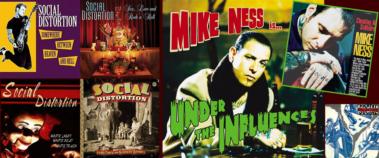 Plattencover Mike Ness, Social Distortion