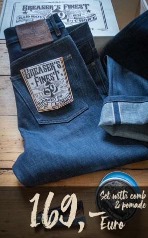 Abbildung Jeans liegend