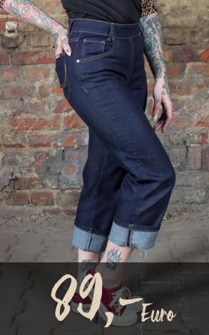 Detailansicht Jeans