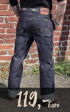 Rückenansicht Men Jeans