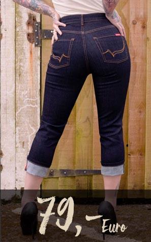 Rückenansicht Ladies Jeans